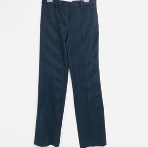 GAP Modern Trouser Navy Pin Stripe 4 Long